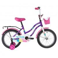 Велосипед 16 Novatrack Tetris.VL20  фиолетовый