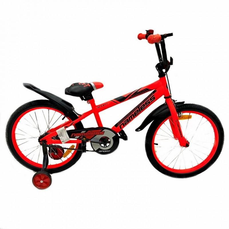 Велосипед 20 Nameless Sport, красный/чёрный