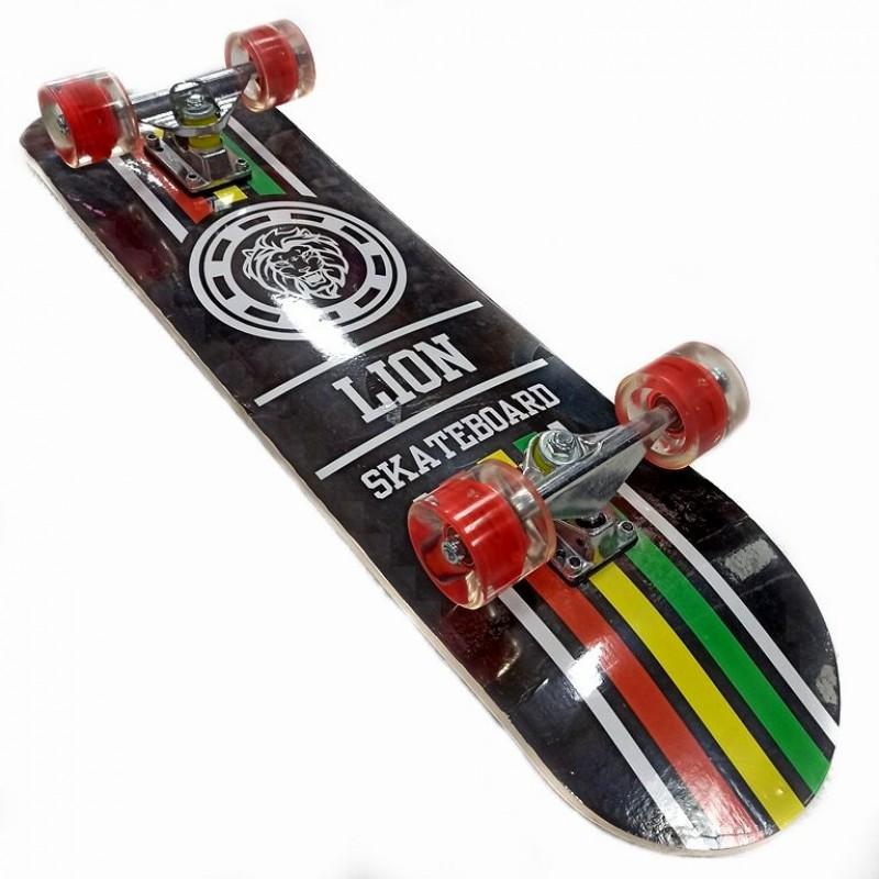 Скейтборд  деревянный JC-3108 колёса полиуретан