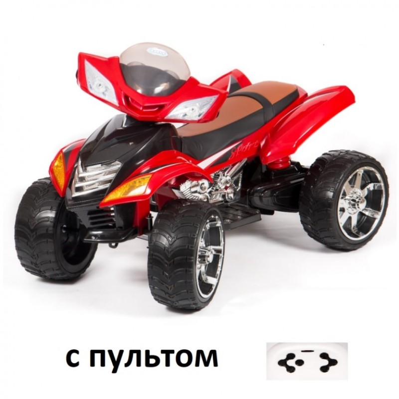 Электроквадроцикл детский Quad pro M007MP (1) (BJ5858) красный р-у