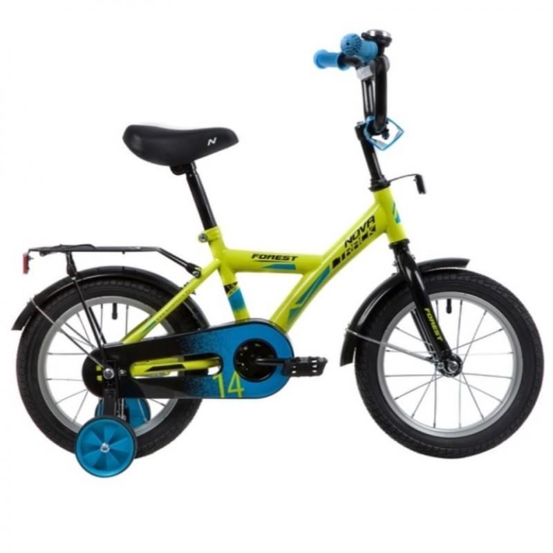 Велосипед 14 Novatrack Forest.GN21  зеленый