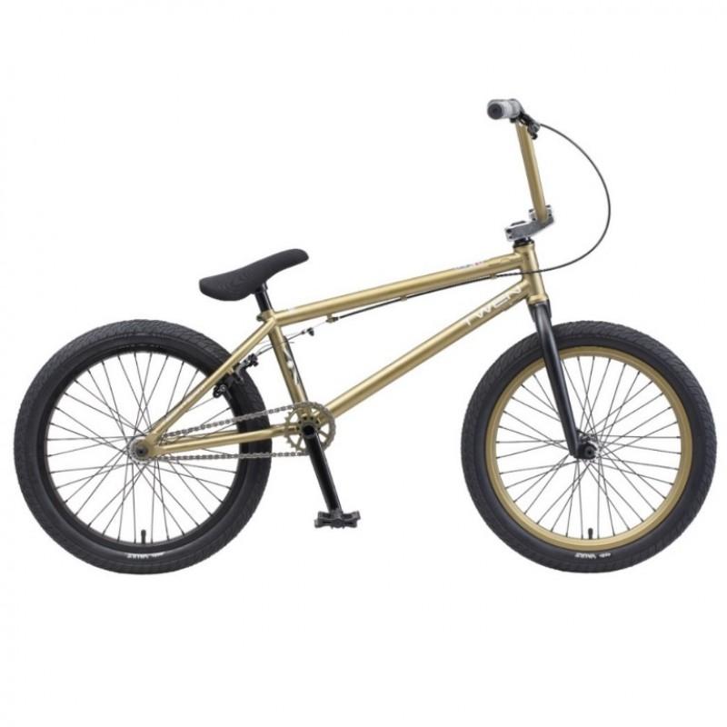 Велосипед трюкавой 20 BMX TT TWEN 2020 зеленый (Cr-Mo) хром-молибден (АКЦИЯ!!!)