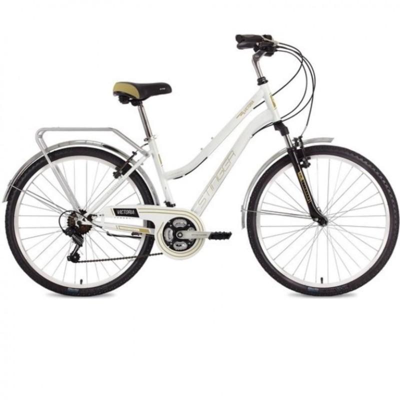 Велосипед 26 Stinger SHV.VICTOR.15WH10 белый