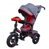 Детский 3-х колёсный велосипед MS-0634 Lexus Trike серый