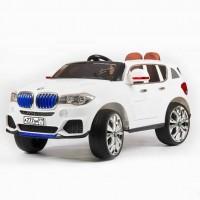 Электромобиль детский BMW X5 45424 (Р) кузов F-15 performance белый