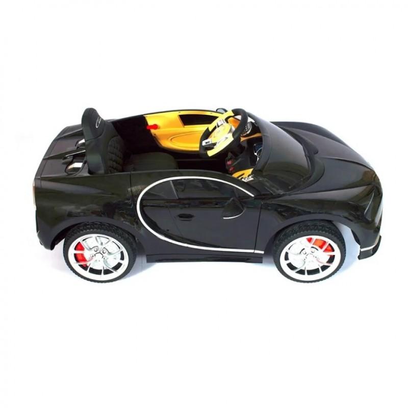 Электромобиль детский Bugatti Chiron HL318  50513 (Р) чёрный