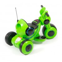 Электромотоцикл детский Y-MAXI 45566 (Р) зеленый, глянцевый
