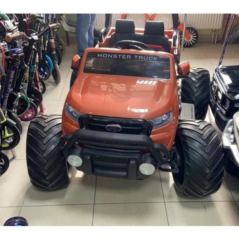 Электромобиль детский Ford Monster Truck (DK-MT550) оранжевый глянец