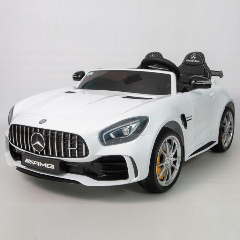 Электромобиль детский Mercedes-Benz AMG GT R  45493 (Р) двухместный (Лицензионная модель)  белый