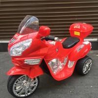 Электромотоцикл детский 34068 красный  121*49*72