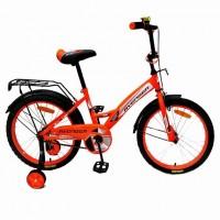 Велосипед 14  AVENGER NEW STAR, оранжевый/чёрный