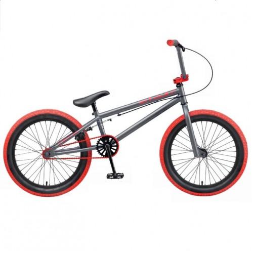 Велосипед трюкавой 20 TT Mack серый (АКЦИЯ!!!)