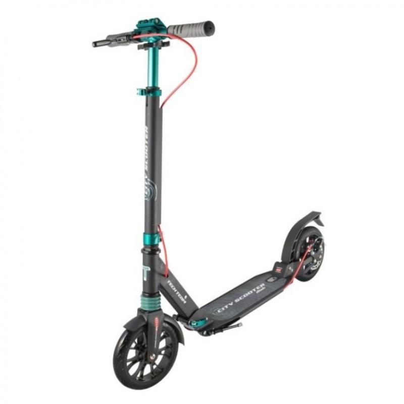Самокат TT City Scooter Disk Brake 2020 (Черно-бирюзовый) АКЦИЯ!!!