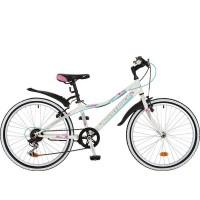 Велосипед 24 Novatrack SH6SV.Alice.12WT9   6ск белый