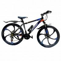 Велосипед  26  Лит. диски Summa-26/17 чёрно-синий
