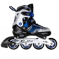 Роликовые коньки Azart  34-37 (M) 1/6 синий