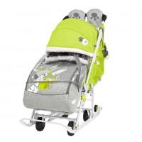 Санки  коляска DB2/3 Baby2 лимонный 101 Далматинец