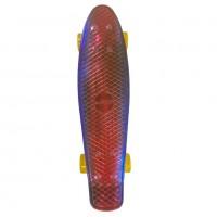 Скейтборд  Explore Ecoline NEO/6 пенниборд синий/крансый