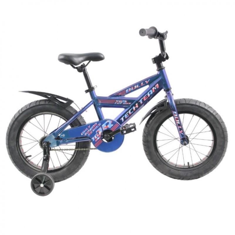 Велосипед 16 Fat bike TT BULLY  Blue (АЛЮМИНИЙ)  (P)