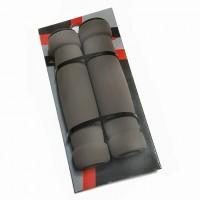 Грипсы Х87791 STG GR03 128 мм, черные, мягкие, для самоката и вело.,инд.уп серые