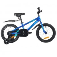 Велосипед 16 Novatrack 165JUSTER.BL21 синий