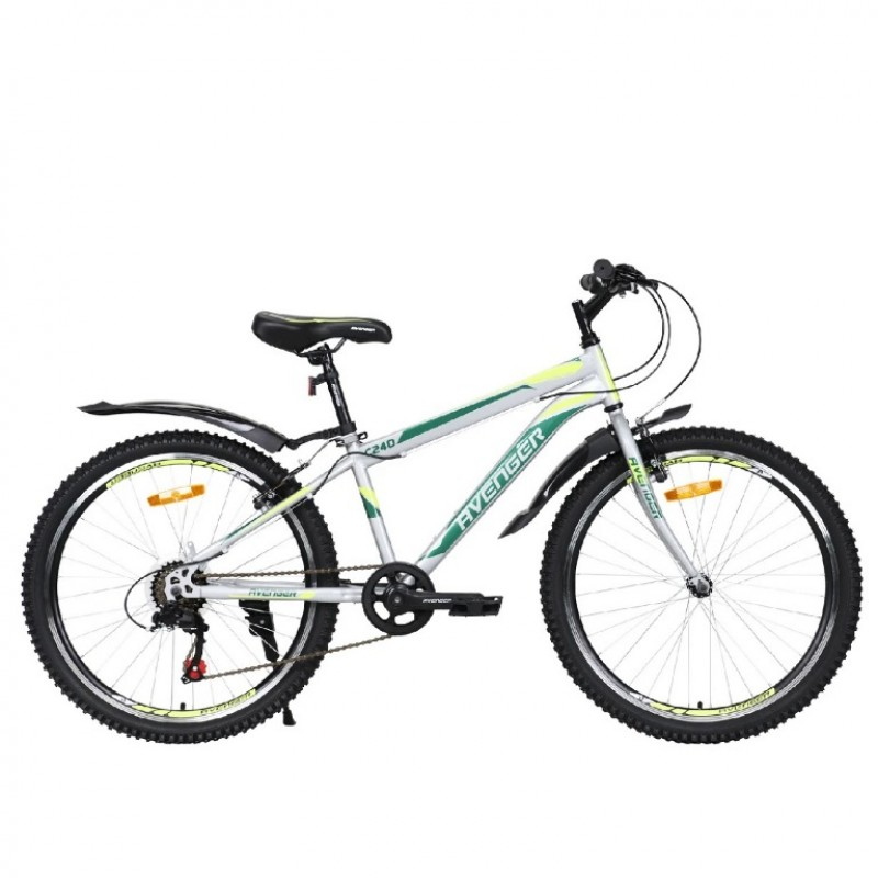 Велосипед 24 Avenger C240-GR/YLN13(21) 13
