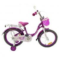 Велосипед 18 OSCAR KITTY фиолетовый/белый