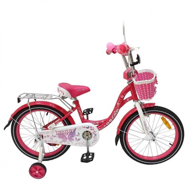 Велосипед 20 OSCAR KITTY розовый/белый