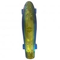 Скейтборд  Explore Ecoline NEO/6 пенниборд синий/золотой