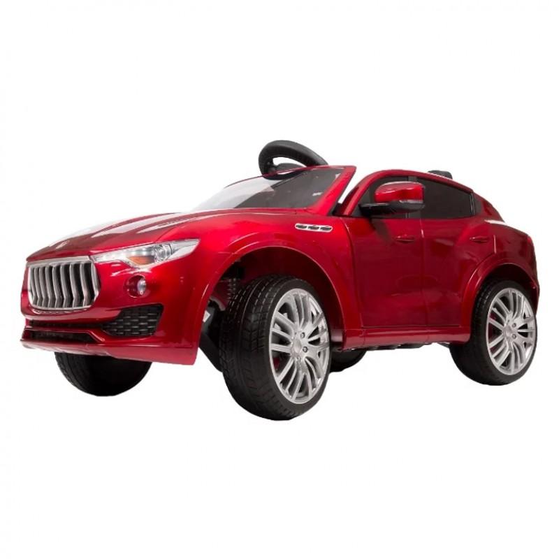 Электромобиль детский Maserati Levante 45512  (Р)  вишневый  глянец