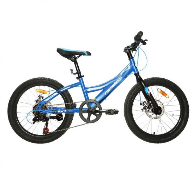 Велосипед 20 Nameless S2300D-BL/WT-11, синий/белый
