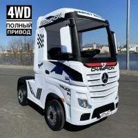 Детский электромобиль Mercedes-Benz HL358 Actros белый