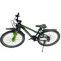 Горный велосипед 26 Roush 26V200-3 зелёный матовый