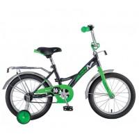 Велосипед 16 Novatrack Strike.BKG20 черный-зелёный