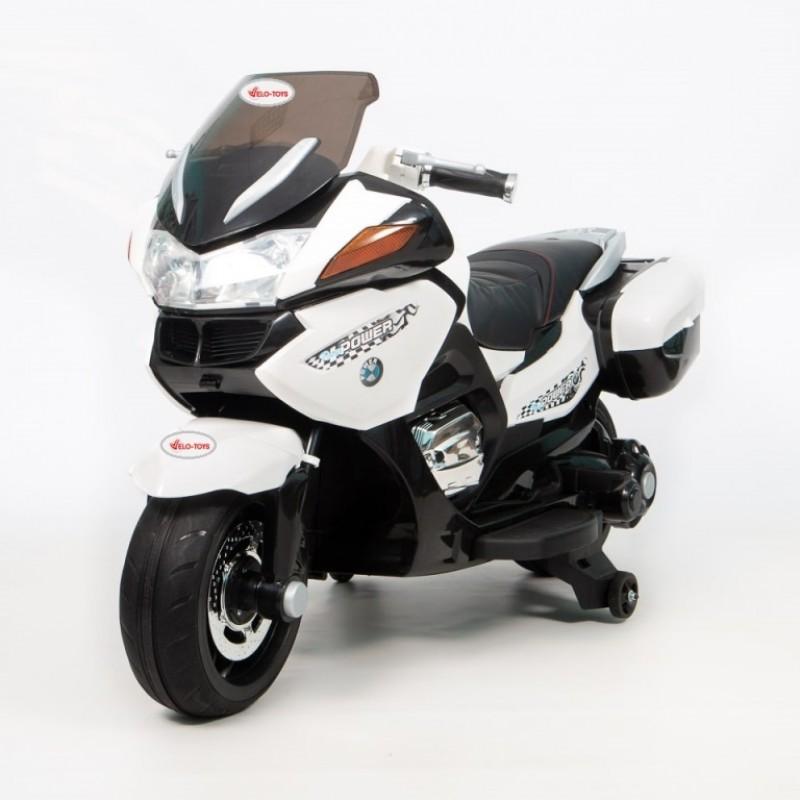 Детский мотобайк BMW 45388 (Р)  PoliceMotоbaike белый