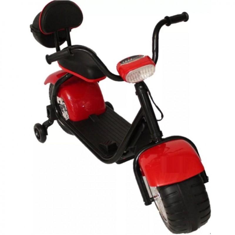Электромотоцикл детский YM708 CityCoco 50376 (Р) красный
