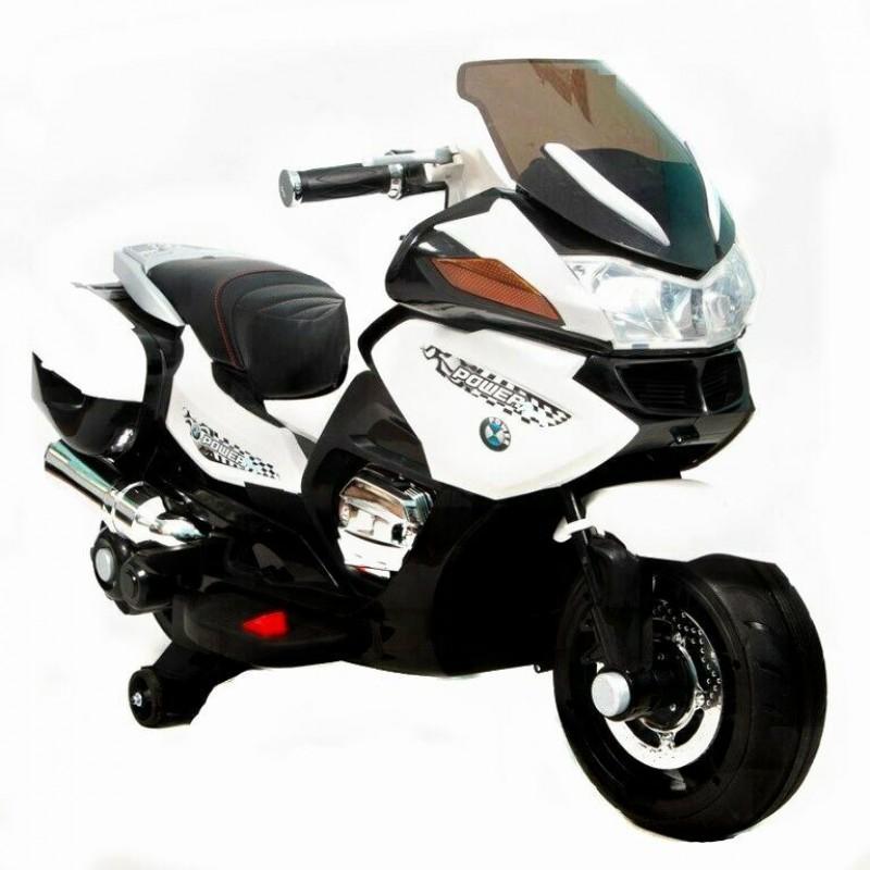 Детский мотобайк BMW 45385 (Р)  белый