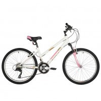 Велосипед 24 Foxx Salsa 24SHV.SALSA.12WH1 белый  АКЦИЯ!!!