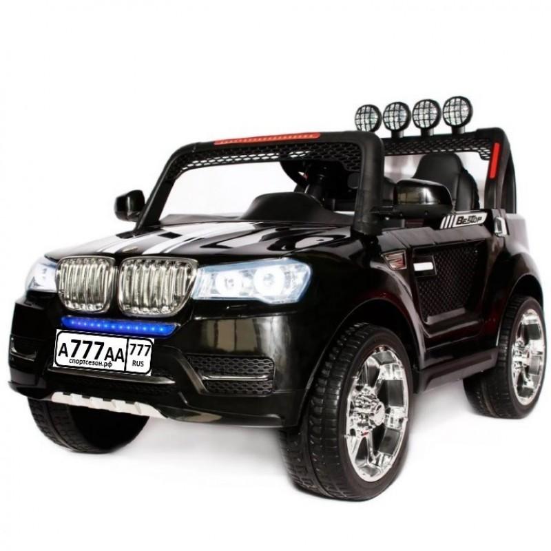 Электромобиль детский BMW 49299 (Р) чёрный