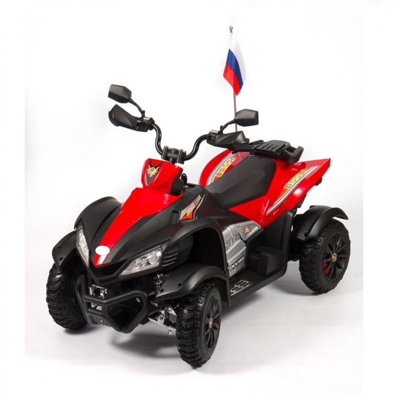 Электроквадроцикл детский CROSS 45392 (Р) красно-черный
