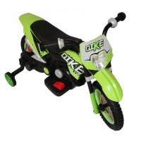Электромотоцикл детский CROSS YM68  50488 (Р) зелёный