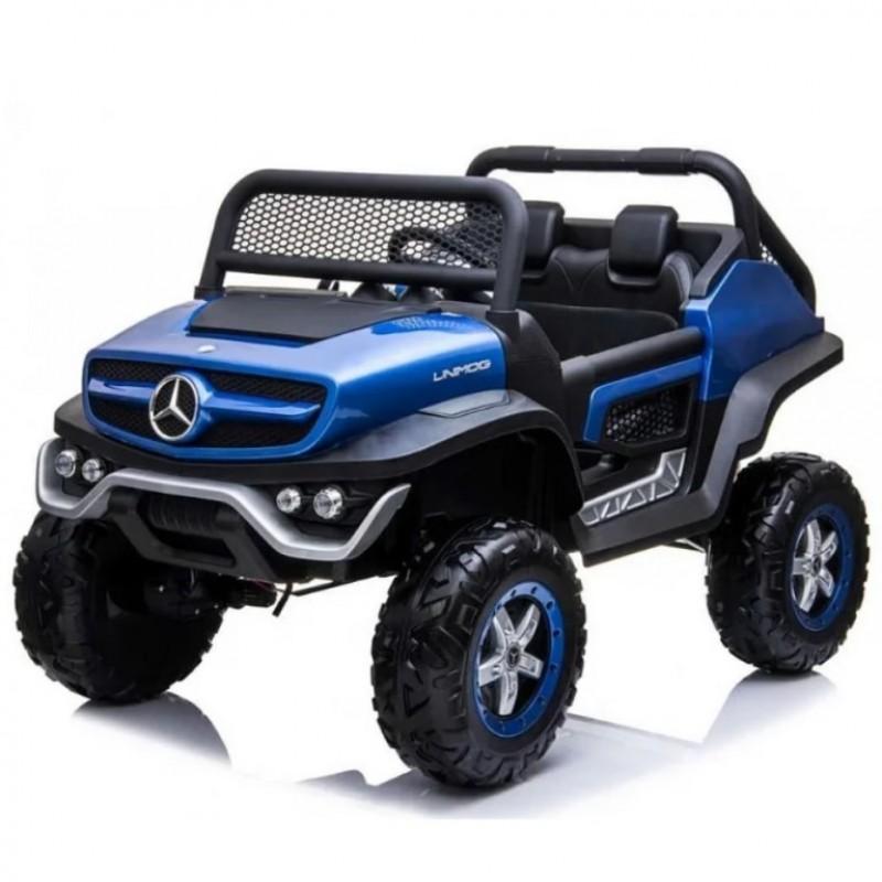 Электромобиль детский Mers Unimog concept  51715 (Р) синий глянец