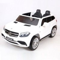 Электромобиль детский Mercedes-Benz AMG GLS63   45487 (Р)   Полный привод! белый глянец