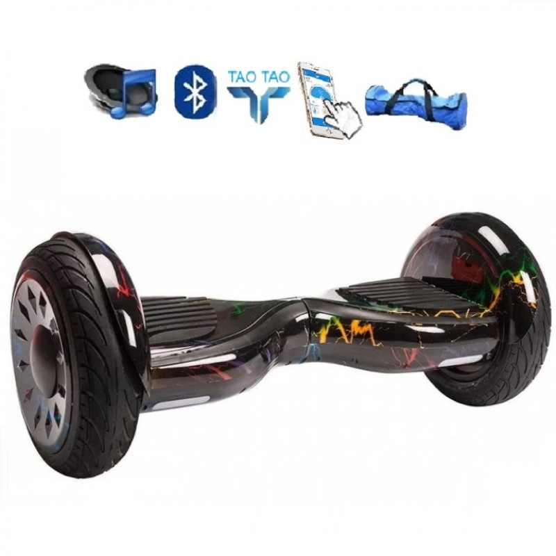 Гироскутер 10,5 Smart Balance SUV Цветная Молния Premium PRO + Самобаланс + TaoTao Whell new
