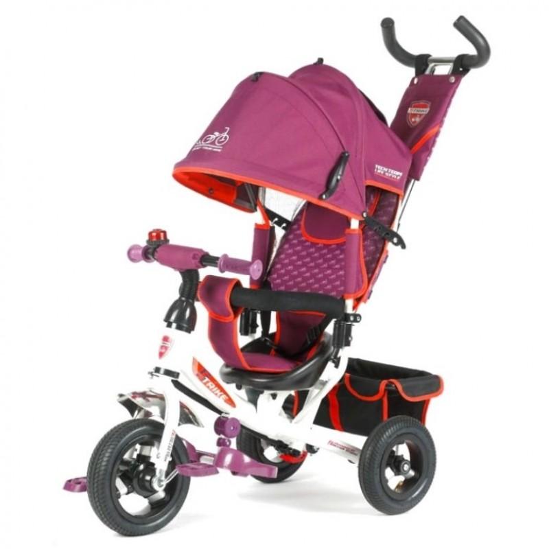 Детский 3-х колёсный велосипед TT 950D-AT фиолет 1/2