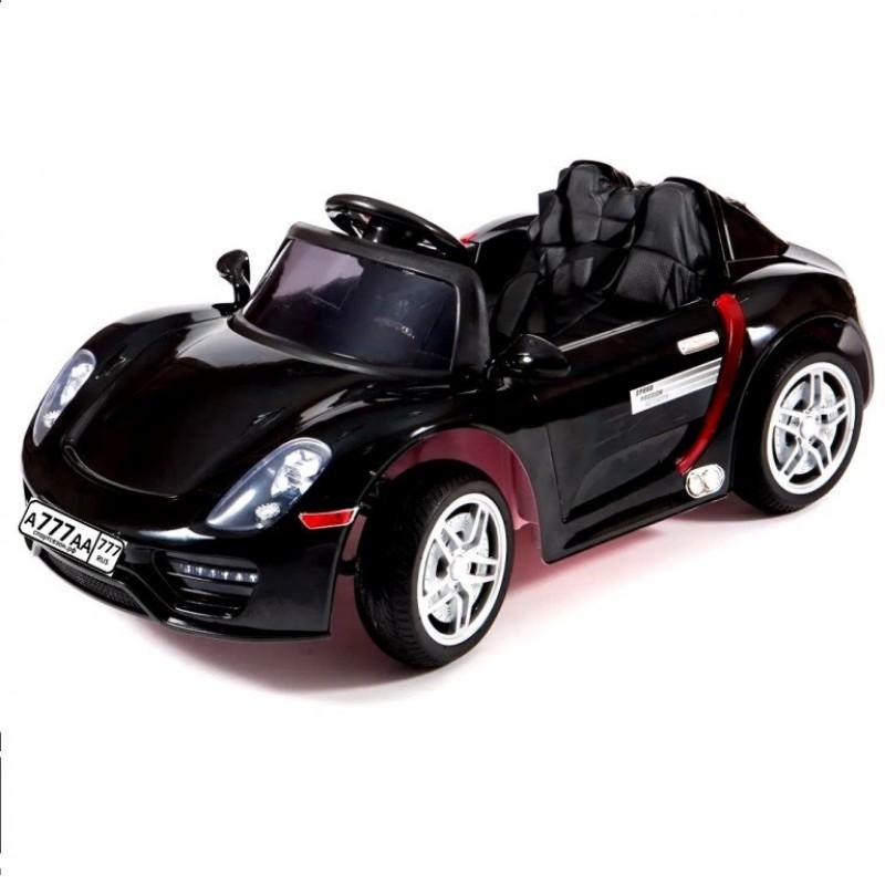 Электромобиль детский Porsche M002Р (918 Spyder) (HL-1038)  чер-гл.