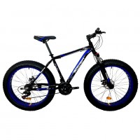Велосипед 26 Fat bike Roush 26FMD250 AL PRO-2 синий матовый
