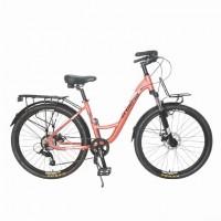 Велосипед 27,5 TT Scorpio 17 персиковый