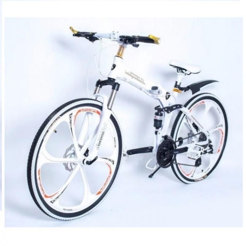 Велосипед 26  Лит. диски Lamborghini склад. белый