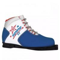 Ботинки лыжные  36р. 75мм Spine kids 299/1 синий